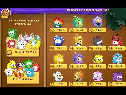 Club Penguin: Adopting Every Puffle