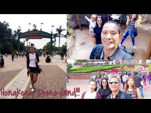 Hongkong Disneyland! (11/12/2016)