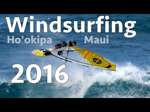 Windsurfing Ho'okipa 2016 Compilation