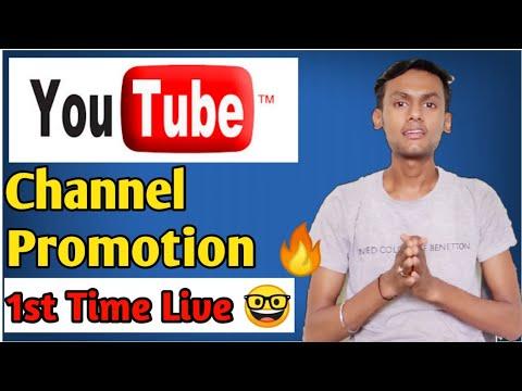 1st Time Live 🔥Channel Promotion Aa Jao Sabhi ♥️