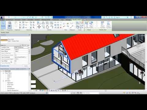Hướng Dẫn Revit Architecture Cơ Bản phần 1 - User Interface