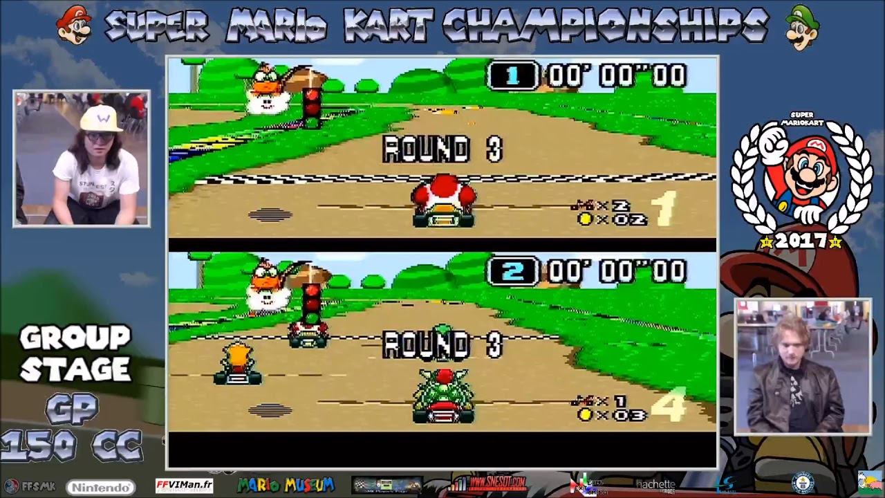 Super Mario Kart Championship 2017 - GP150cc - Group Stage ...