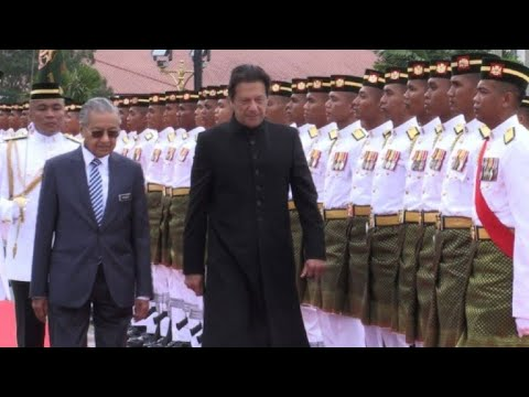 AFP news agency: Malaysian PM holds welcoming ceremony his Pakistani counterpart