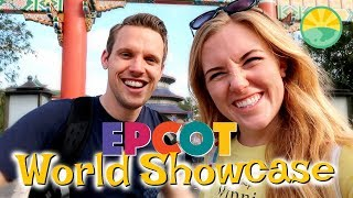 Eating our way around World Showcase at Disney's EPCOT! | Maddie Moate
