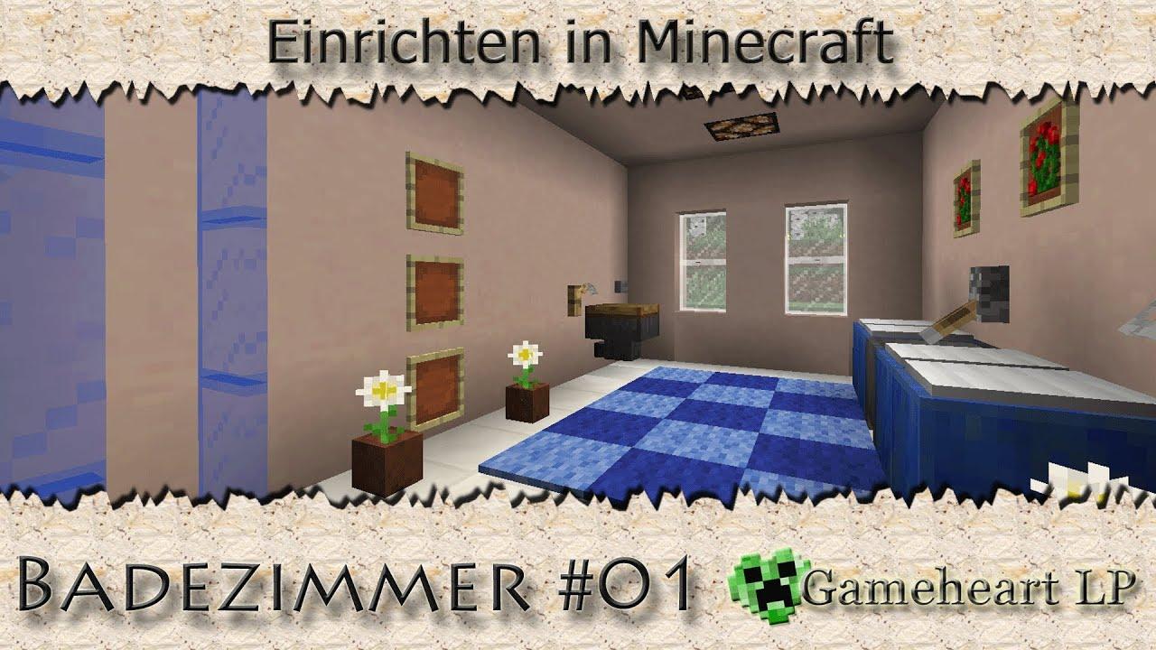 minecraft badezimmer 01 einrichten in minecraft youtube. Black Bedroom Furniture Sets. Home Design Ideas