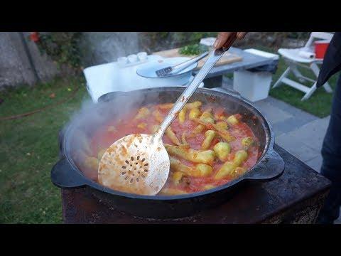 Ахоржак (аппетит)  -Перец в собственном  соку помидора