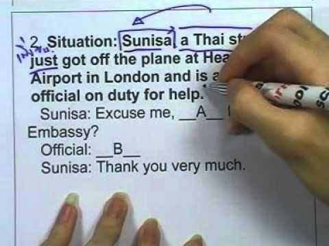 ข้อสอบภาษาอังกฤษ O-NET ,ปี2553 ,ตอน01