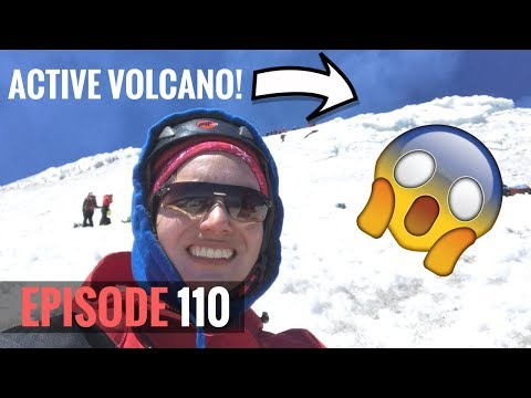 WE CLIMBED AN ACTIVE VOLCANO! **Volcan Villarrica Chile** | CMVlog 110