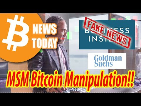 """Goldman Sachs IS Launching Bitcoin Trading Desk"" - Martin Chevez (CFO) [Bitcoin News Today]"