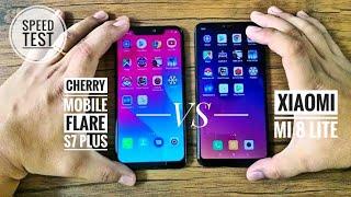 Cherry Mobile Flare S7 Plus versus Xiaomi Mi 8 Lite Speed Test