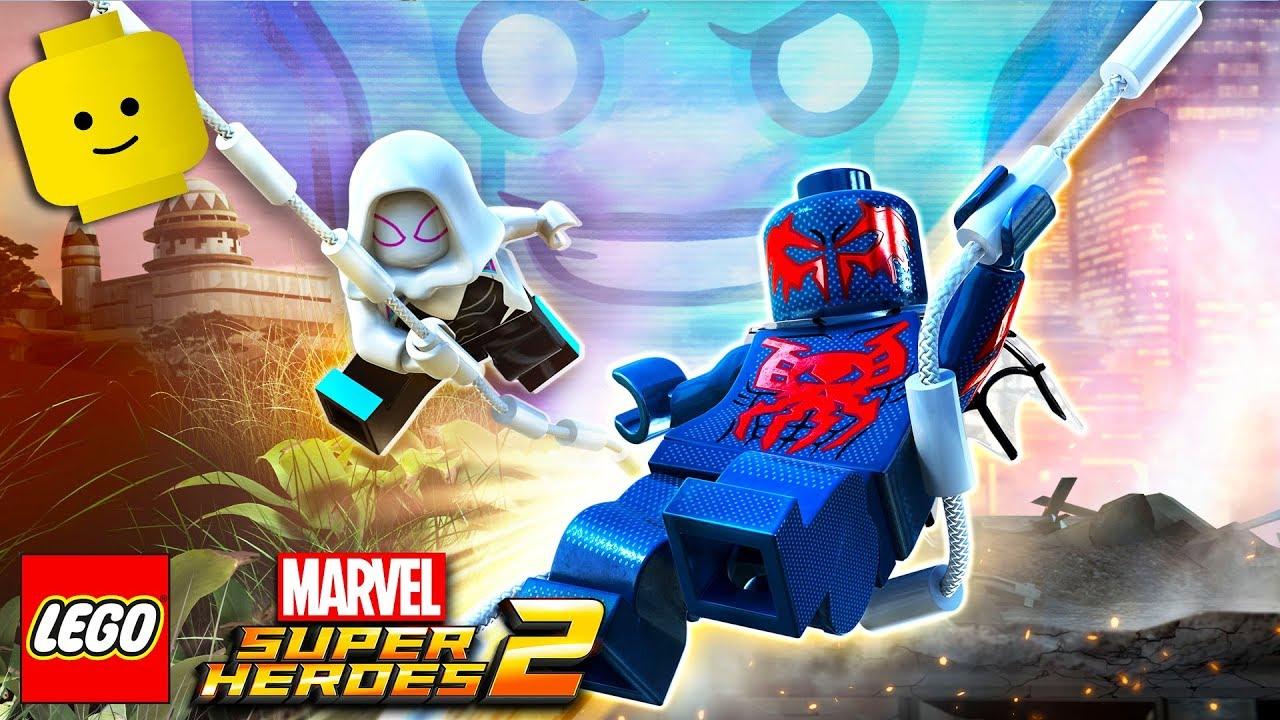 Spiderman Cartoon Game Videos For Kids Children Lego Marvel Superheroes 2 11 Youtube