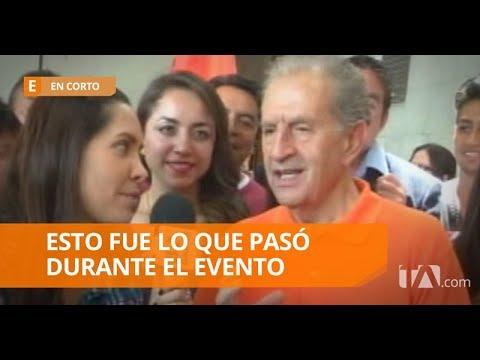 Rodrigo Borja asistió a la convención juvenil de su partido - En Corto