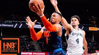 OKC Thunder vs San Antonio Spurs Full Game Highlights | 01/10/2019 NBA Season