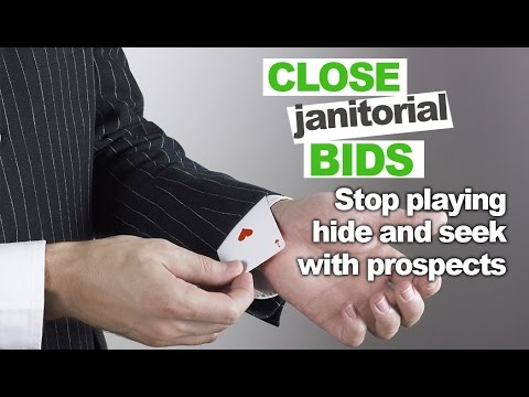 Supercharge You Janitorial Bids Without Having to Chase Down Prospects for Weeks