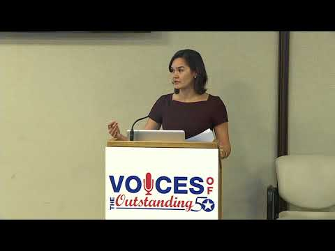 Voices of the Outstanding 50 - Series One: Millennials (Full Panel)