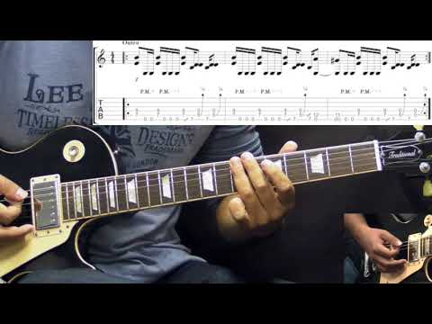 Led Zeppelin - Whole Lotta Love - Rock Guitar Lesson (w/Tabs)