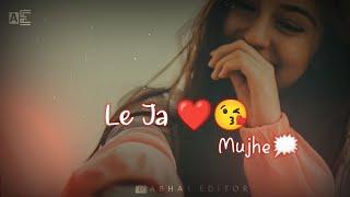 Le Ja Mujhe Saath Tere Whatsap status | Tere Mere Darmiyaan Song | Abhay Editor