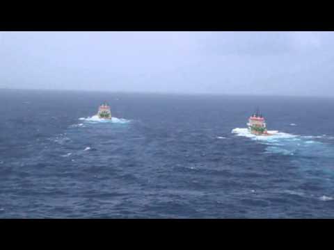 Petrojarl Knarr, Tugs off the Philippines