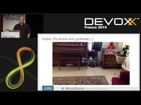 IoT, Java, and Autonomous Drones