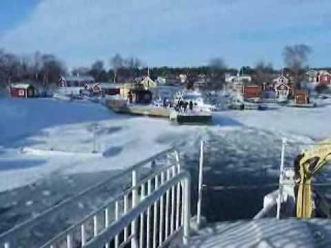 Winter in the Stockholm archipelago