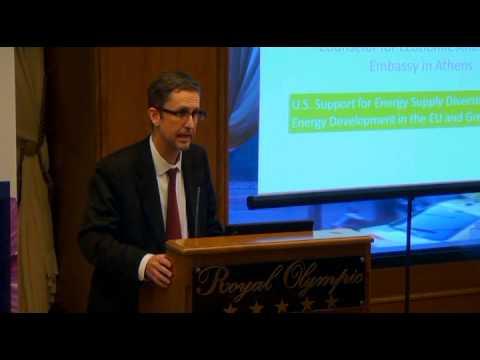 Greece Looking Ahead Conference | Energy & Sustainability Club | David Lippeatt