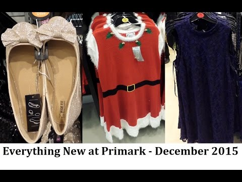 Everything New at Primark December 2015 - womens fashion, shoes, handbags, homeware  | IlovePrimark