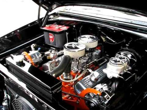 Chevy Nomad Wagon Engine Compartment