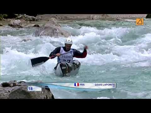 Sponsoring eXcent 2019 : Louis Lapointe, champion descente canoé-kayak