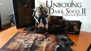Unboxing Dark Souls 2 Collector Edition Steelbook Figur Artbook PC DVD Hülle German Deutsch