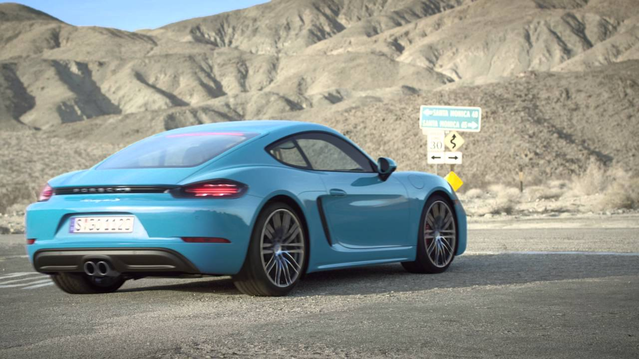 Porsche 718 Cayman S - YouTube