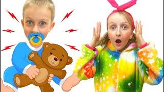Tawaki kids pretends to play with Eva (part.2)