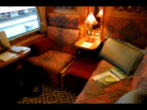 My State Room onboard the Orient Express Train to South East Asia