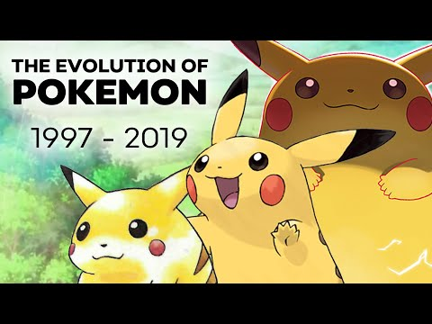 The Evolution Of Pokemon ( Games And Show ) | Anime Explained