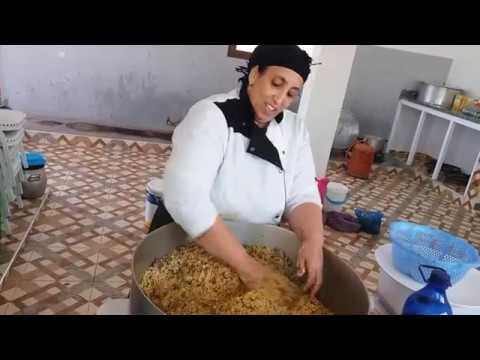 تتمة وليمة عرس و دريساج  بلمسة جديدة من إيد الطباخة المحترفة لالة فاطيمة  و كواليس  الجزء 2