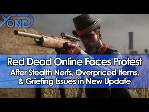 Red Dead Online Faces Protest After Stealth Nerfs, Overpriced Items, & Griefing Issues in New Update