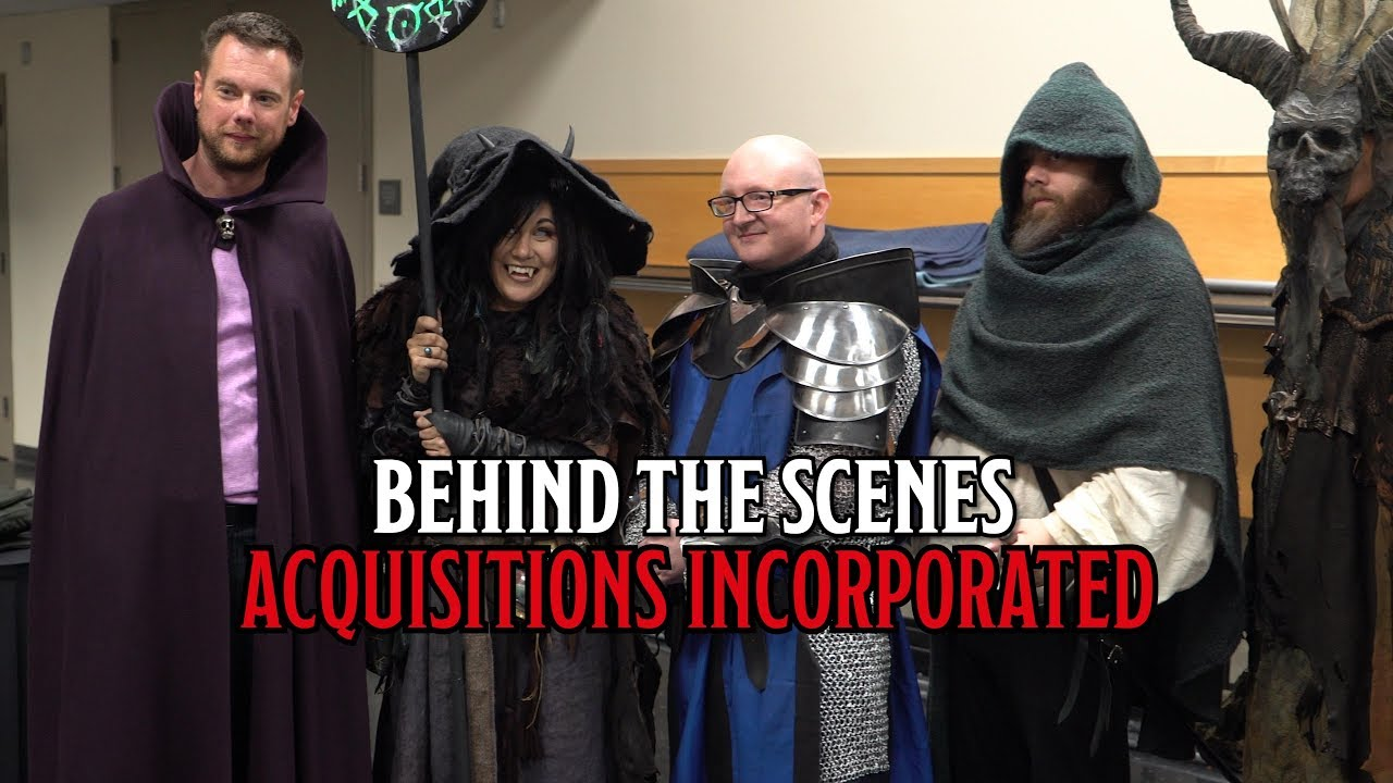 Behind the Scenes of Penny Arcade's Acquisitions Incorporated