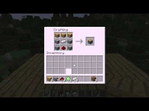 Minecraft How to Make a Piston Recipe: How to Make a ...
