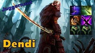 Dendi [Juggernaut] / Top Rank Pro Gameplay - Dota 2