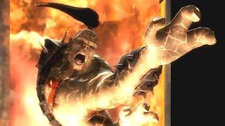 Mortal Kombat 9 Komplete Edition - All Fatalities/Stage Fatalities on Goro (Including Kratos)