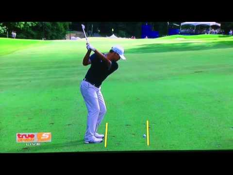 Kim si woo golf swing