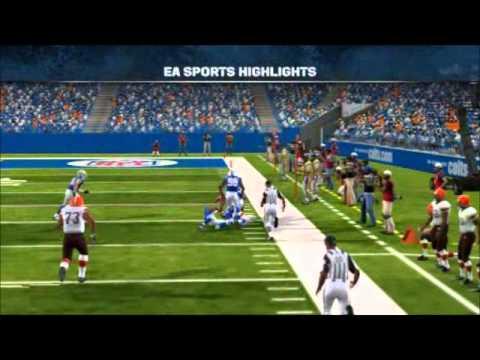 DFFL Madden 12 Season 2 Wildcard Playoff Browns vs Colts