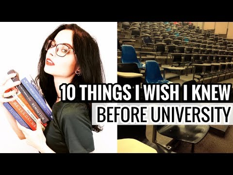 10 Things I Wish I Knew Before University // What All Students Need to Know
