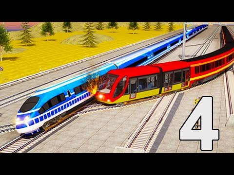 Indian Train Racing Games 3D - Multiplayer #4 (Android Gameplay ) | Droidnation