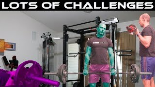 Lots of Challenges | Fitness Gaunlet Challenge | Workout | Vlog | The Cut