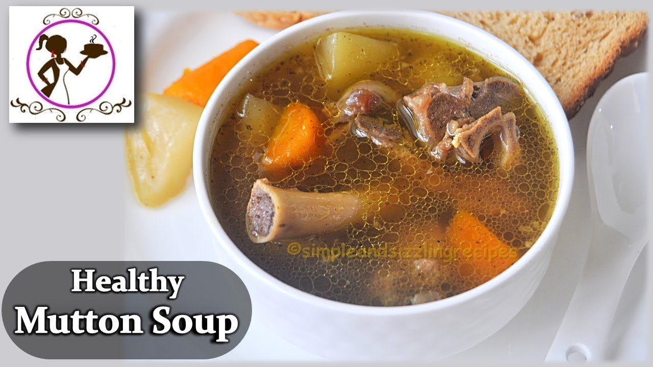 how to make mutton stew soup