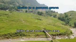 Halid Beslic Mora i planine [karaoke]