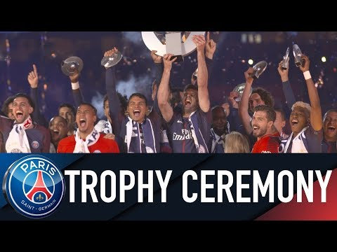 LIGUE 1 TROPHY CEREMONY
