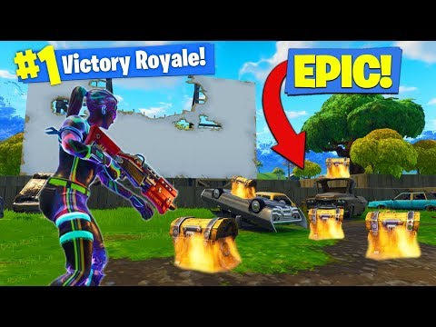 The NEW *BEST* Landing Spot In Season 4 In Fortnite Battle Royale!