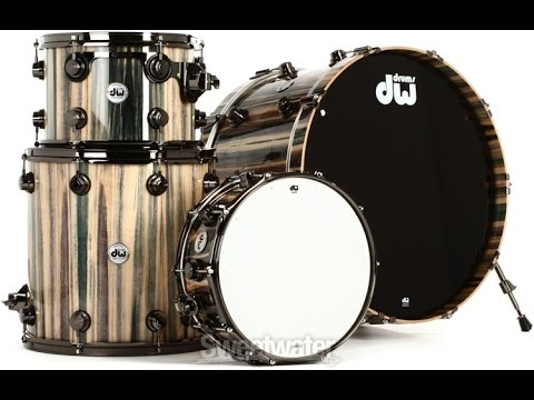 dw drum finishes