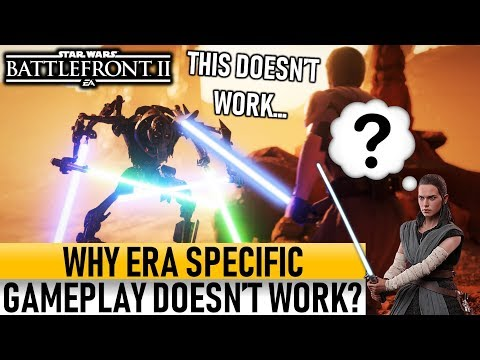 WHY ERA SPECIFIC GAMEPLAY DOESN'T WORK Star Wars Battlefront 2 thumbnail